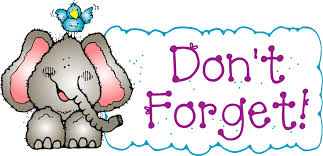DON'TFORGET